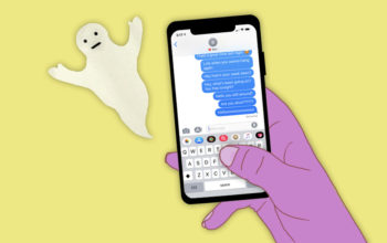 Five reasons not to stress over ghosting